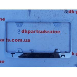 Рамка номерного знака заднего 1138982-00-А для Tesla Model 3