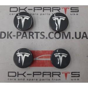 Колпачек колёсного диска (центральный), комплект для Tesla Model 3