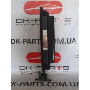1 Козырек солнцезащитный левый, чёрный ультразамш 1108417-86-C