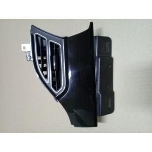 3 Накладка инструментальной панели декоративная левая, сторона водителя, чёрный лак с воздуховодом 11042772-10-C