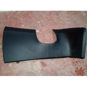 26 Декоративная накладка под руль, чёрная кожа 1002405-01-H