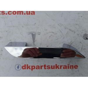 10 Хромированная ручка (металл) наружная 1007730-00-B
