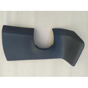 26 Декоративная накладка под руль, чёрная кожа 1007013-00