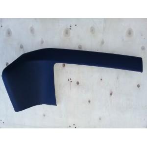 Декоративная накладка бардачка, чёрная кожа 1007882-00-D