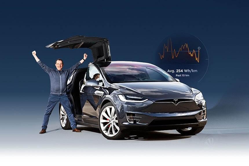 Большой выбор автомобилей Tesla