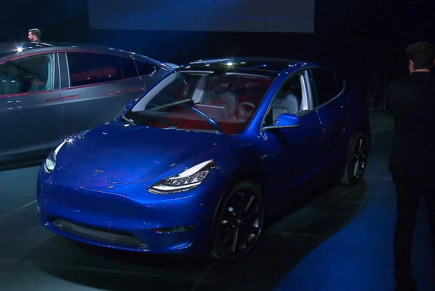 Презентация Tesla Model Y в 2019 году